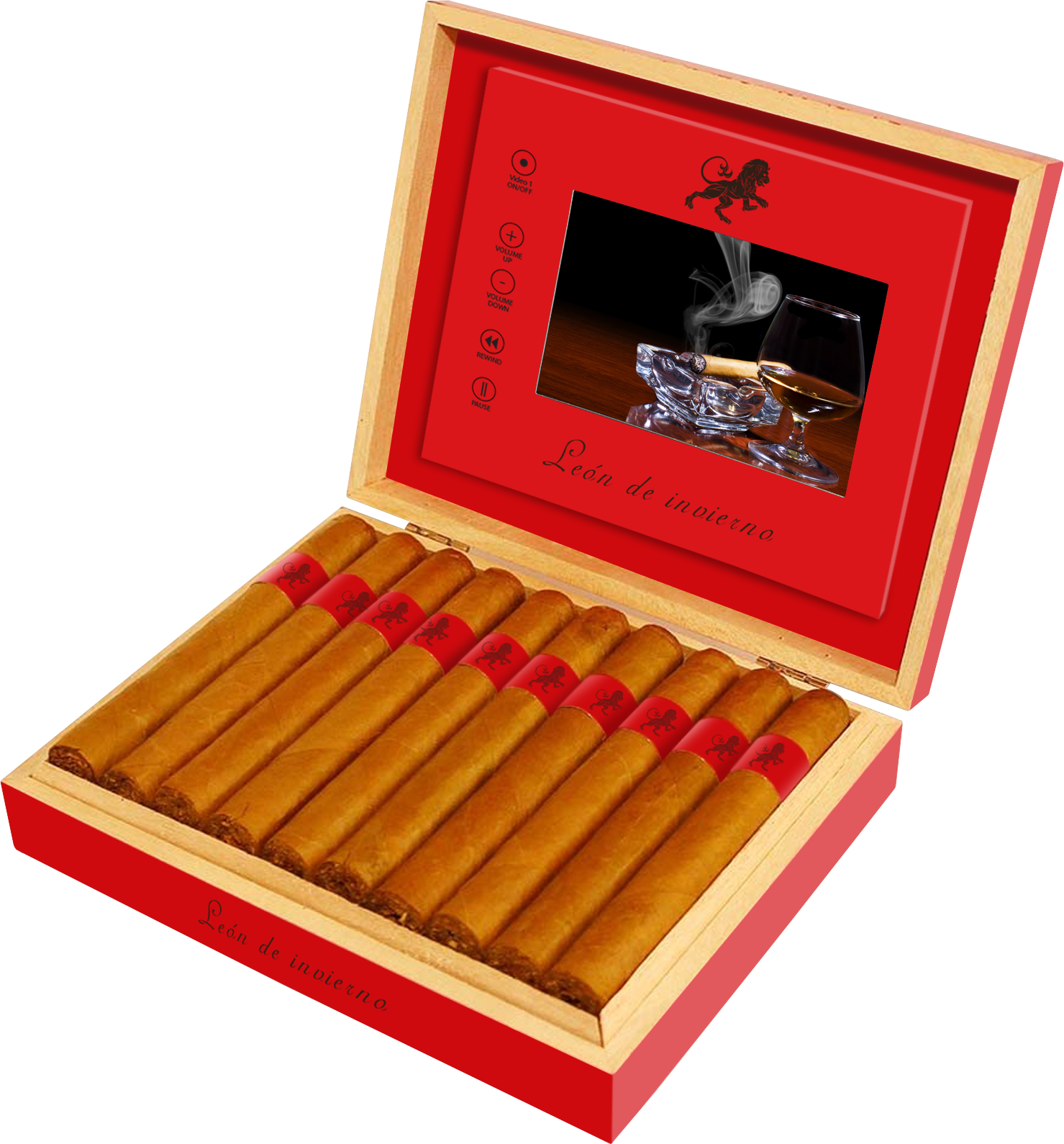 Video Presentation Box Cigars